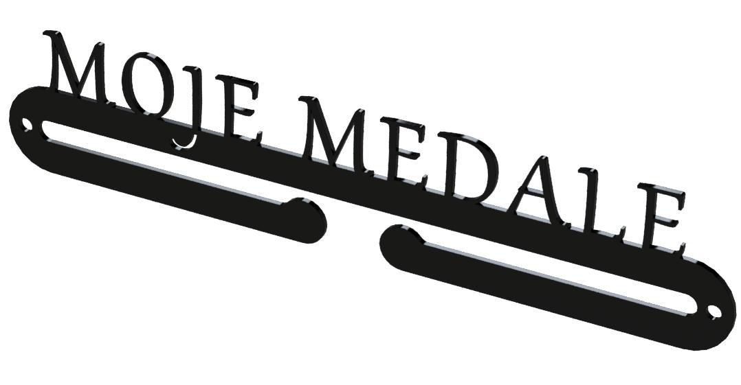 W superbly medalówka MOJE MEDALE V2, wieszak na medale, medale MW59
